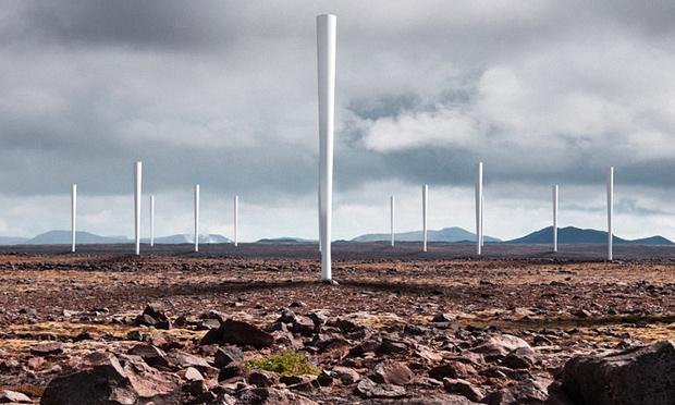 Bementės vėjo jėgainės