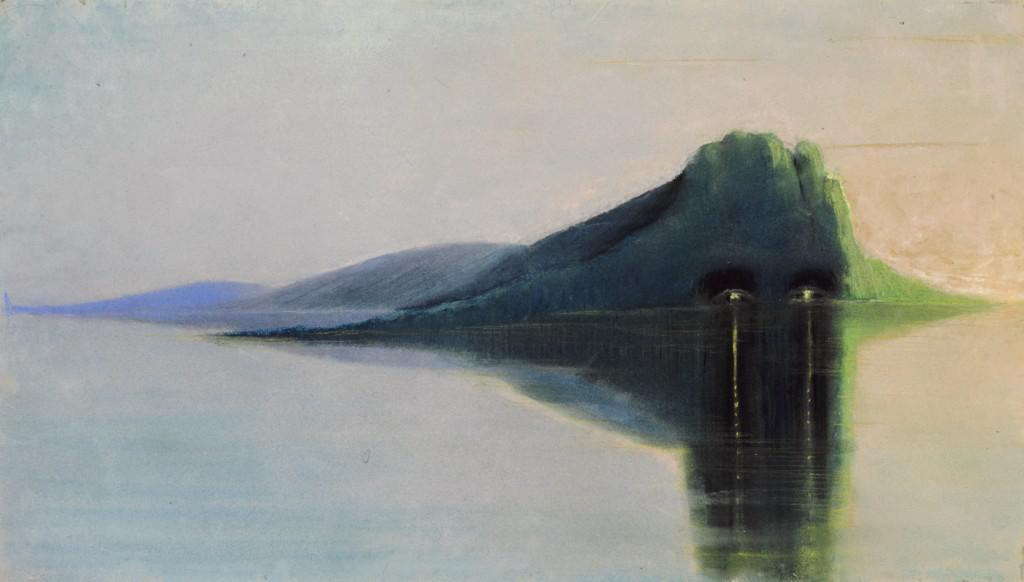1 pav. M. K. Čiurlionis, Ramybė, 1903 m., pastelė, popierius
