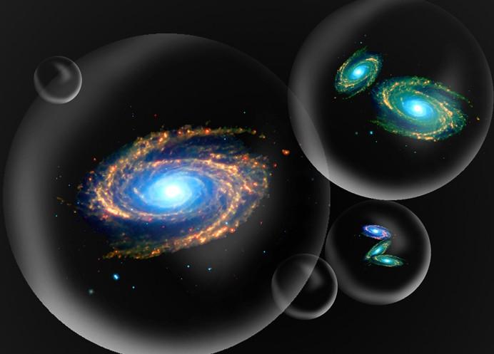 Pav. 6 Burbulinė Visata
