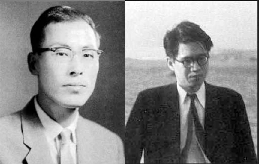 Kairėje - Goro Šimura; dešinėje - Jutaka Tanijama (1927-1958)
