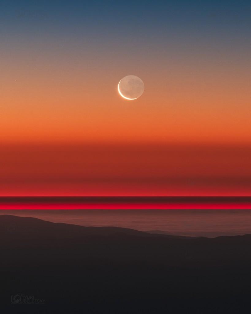 Jaunatis virš Ramiojo vandenyno. ©Yuri Beletsky