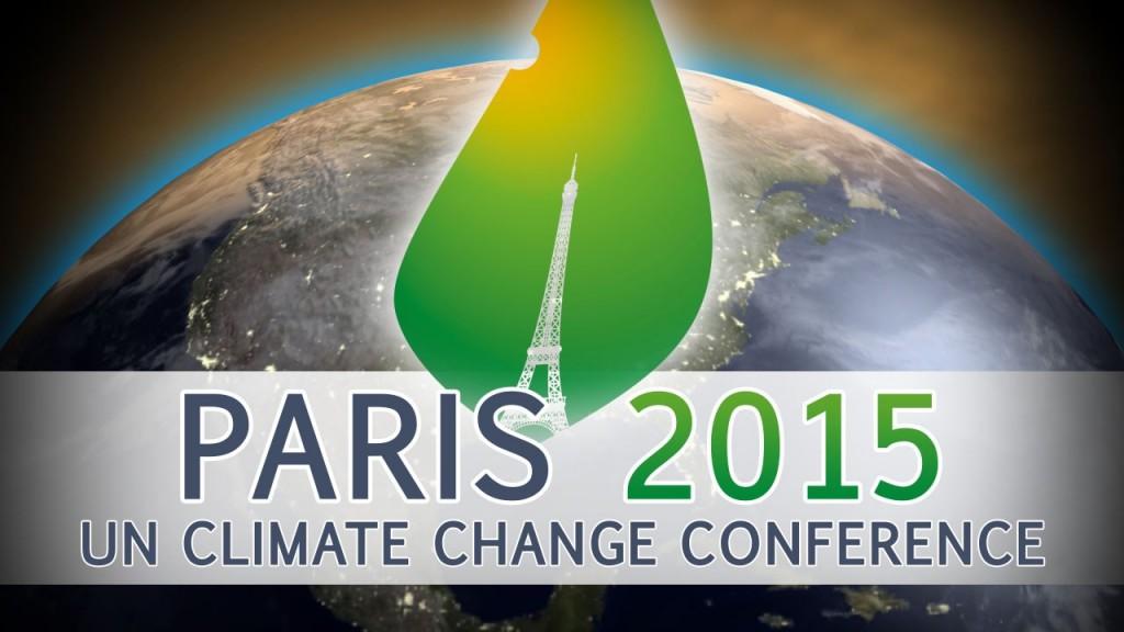 1 pav. Paryžiaus klimato kaitos susitarimo konferencija. Šaltinis http://www.bankersadda.com/2016/04/all-about-paris-climate-agreement.html