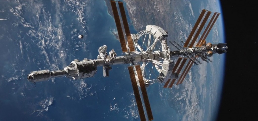 "Erdvėlaivis Hermes iš ""Marsiečio"". ©20th Century Fox"