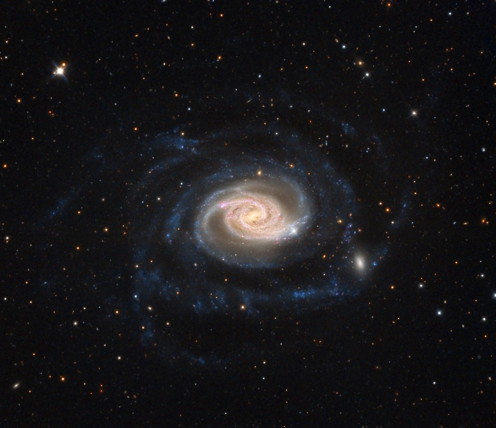 Galaktika NGC 289. ©Adam Block, ChileScope