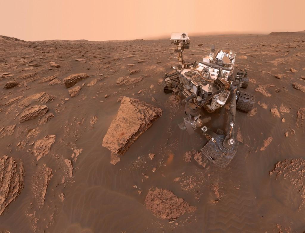 Smalsiuko asmenukė per audrą. Šaltinis: NASA/JPL-Caltech