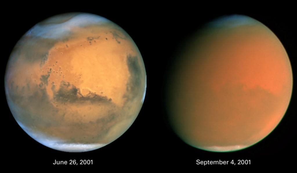 Audra Marse 2001 metais. Šaltinis: J. Bell (ASU), M. Wolff (Space Science Inst.), Hubble Heritage Team (STScI / AURA), NASA
